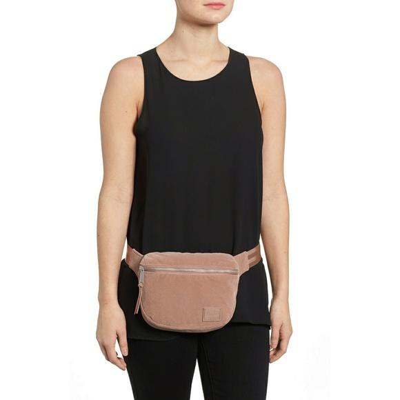 47566b515f21 Herschel Supply Co. Fifteen Velvet Hip Belt Bag